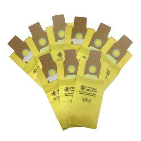 Kenmore 50688, 50690 9-Pack Allergen Filtration Vacuum Cleaner Bags - Fits Kenmore 20-5068, 20-50681, 20-50688, 20-50690, Panasonic U-2, Sanyo PU-1, Kenmore Type O, Kenmore Type U Vacuum Cleaner Bags; Designed -