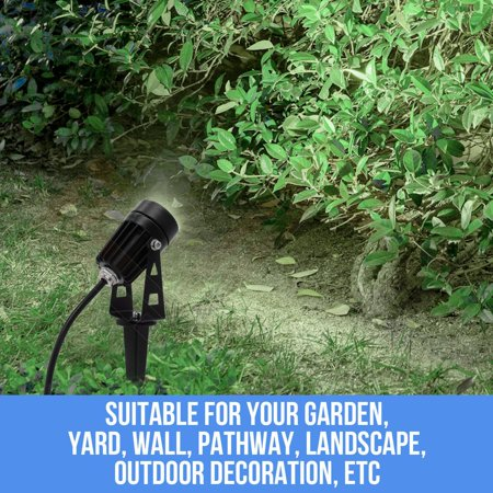 12V LED waterproof Outdoor Garden Spotlights landscape light Lamp - image 6 de 10