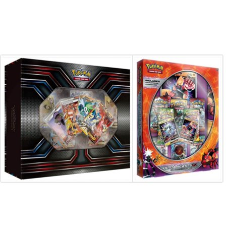 Pokemon TCG The Best of XY Premium Trainer Collection Box and Ultra Beasts Buzzwole GX Premium Collection Box Card Game Bundle, 1 of