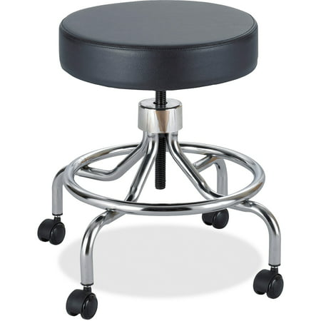 Safco, SAF3432BL, Low Base Screw Lift Lab Stool, 1 Each, - Ice Lift Stool