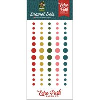Echo Park Animal Safari Enamel Adhesive Dots 60/Pkg-