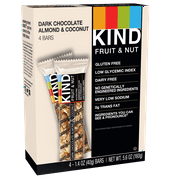 KIND Bars, Dark Chocolate Almond & Coconut, 4 Bars, Gluten Free