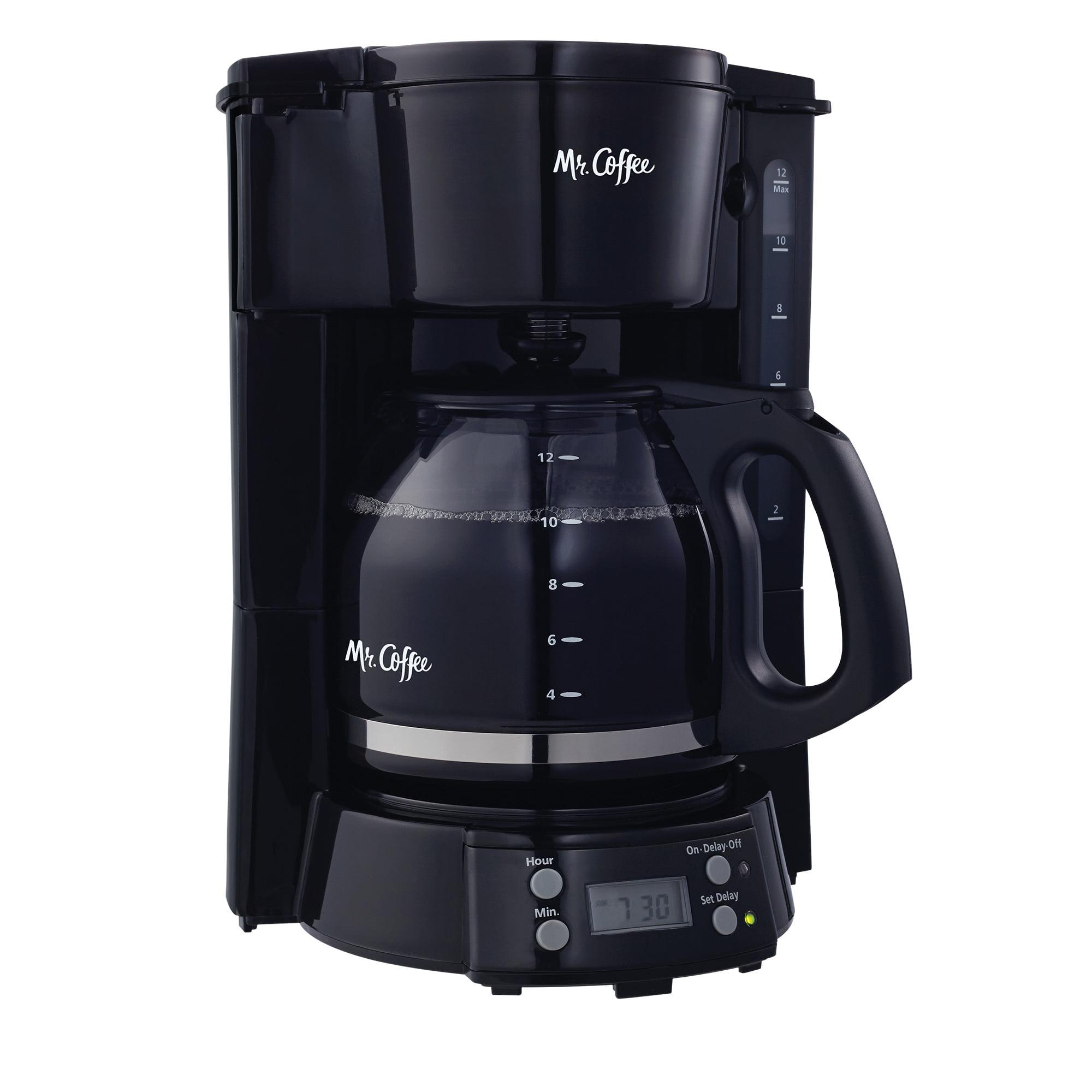 Mr. Coffee 12-Cup Programmable Coffee Maker - Black