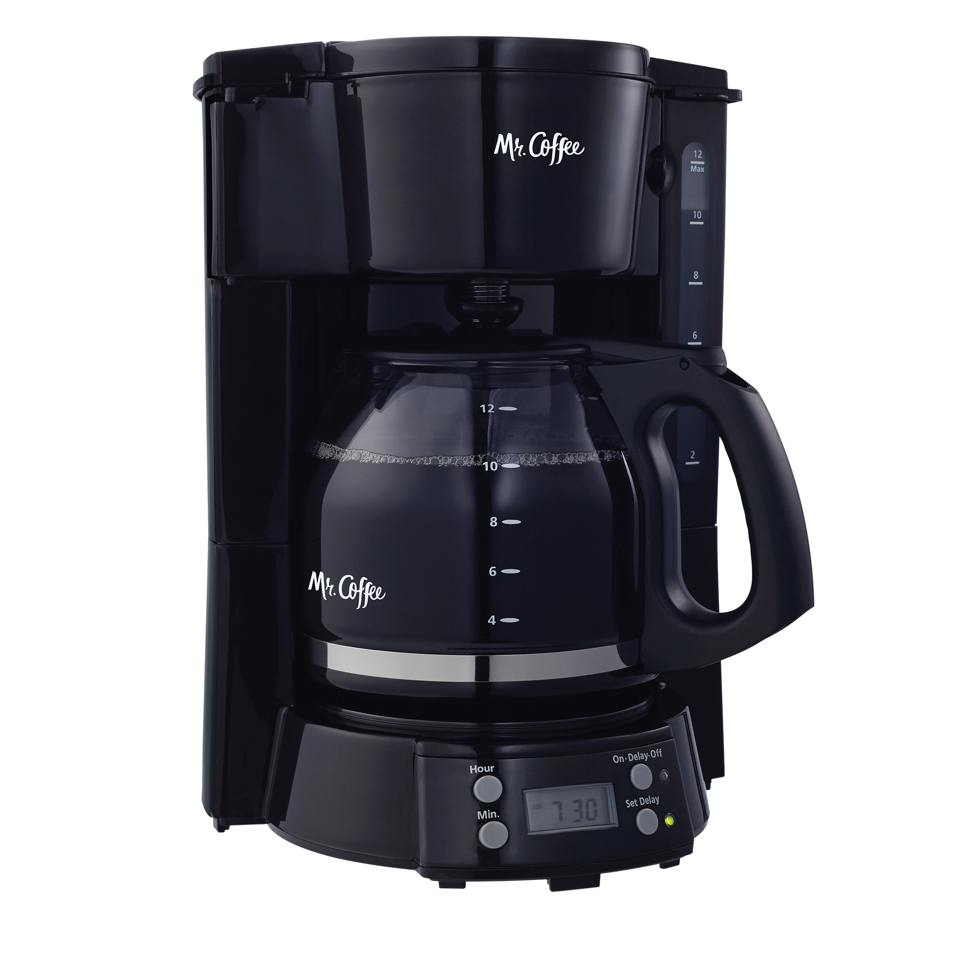 Mr. Coffee 12-Cup Programmable Coffee Maker, Black (BVMC-EVX23)