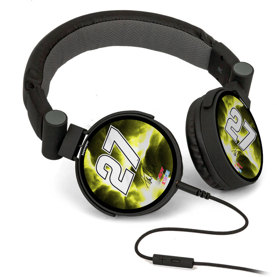 Paul Menard 27 Original Number Design DJ Style Headphones by Keyscaper
