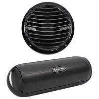 "Rockford Fosgate RM112D4B 12"" 400W Marine/Boat Black Subwoofer Sub+Free Speaker"