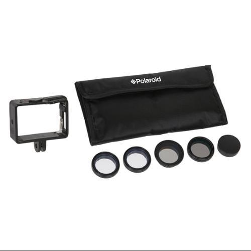Polaroid Optics Professional Push-On HD MC Filters For GoPro Hero 3/3+/4 Cameras (UV, CPL, ND9, 4X STAR, Cover)