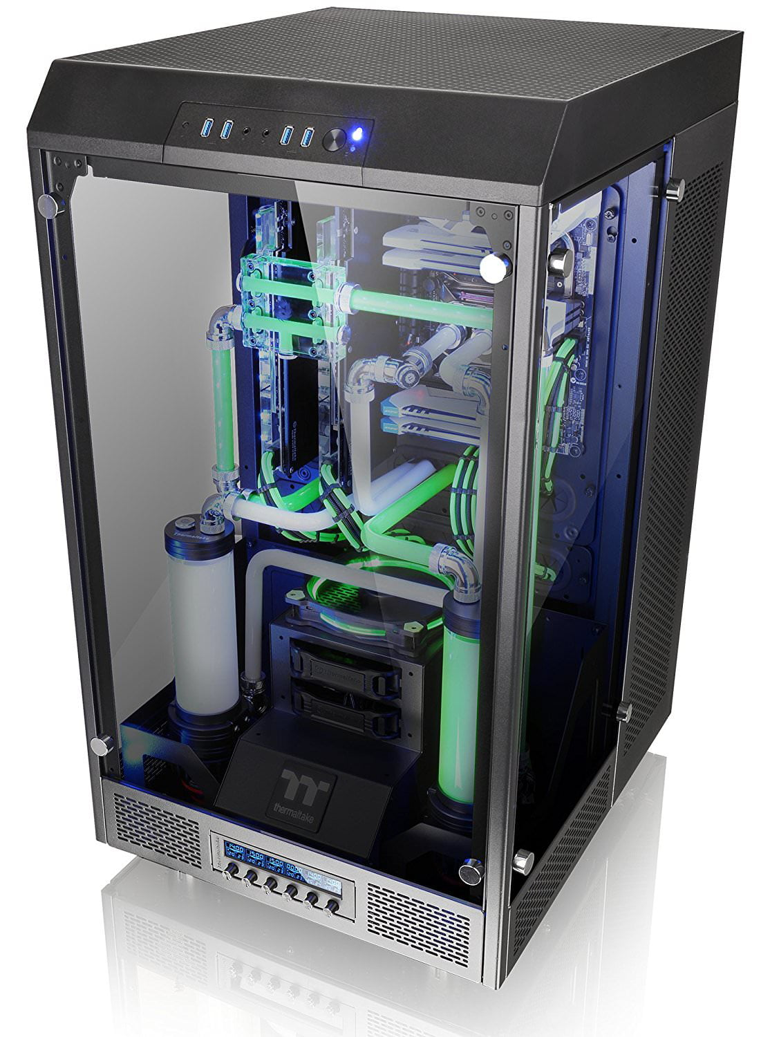 Thermaltake The Tower 900 Full Super Tower Water Cooling Computer Chassis CA-1H1-00F1WN-00 by Thermaltake