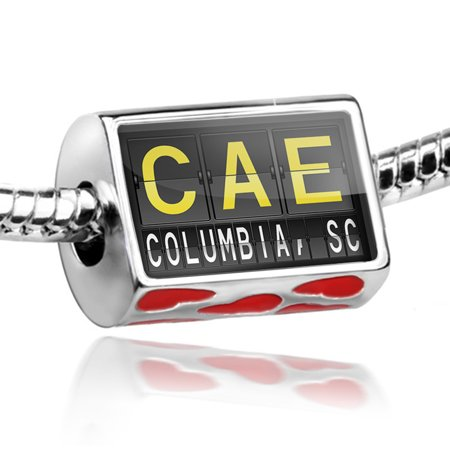 Bead CAE Airport Code for Columbia, SC Charm Fits All European Bracelets](Express Columbia Sc)