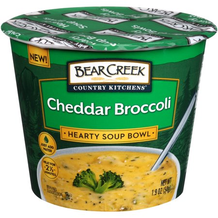 Bear Creek Country Kitchens ® Cheddar Broccoli Soup Mix 1.9 oz. Microcup