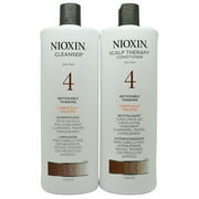 Nioxin System 4 Cleanser & Scalp Therapy Liter Duo, 33.8 Fl Oz ($82 Value)