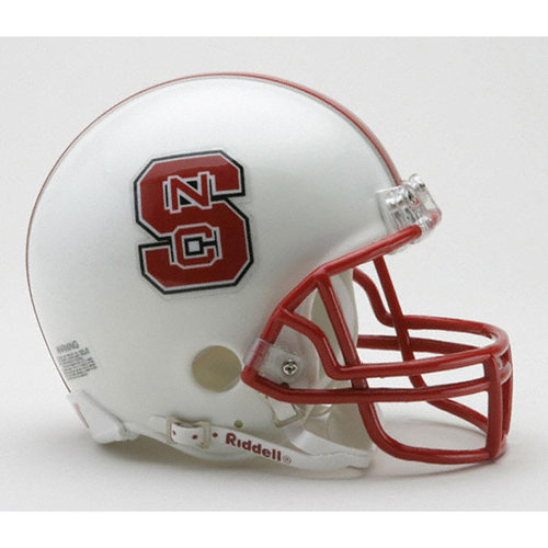 NCAA - North Carolina State Wolfpack Riddell Mini Helmet