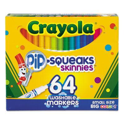 Crayola Pip-Squeaks Skinnies Washable Markers - Crayola Pip Squeaks