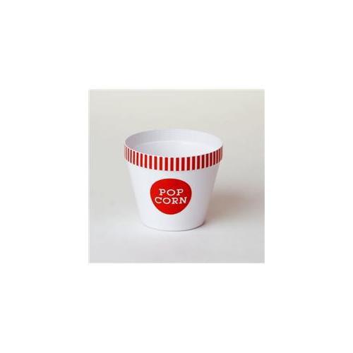 Wabash Valley Farms 44203 Small Classic Red Striped Rim Popcorn Bucket