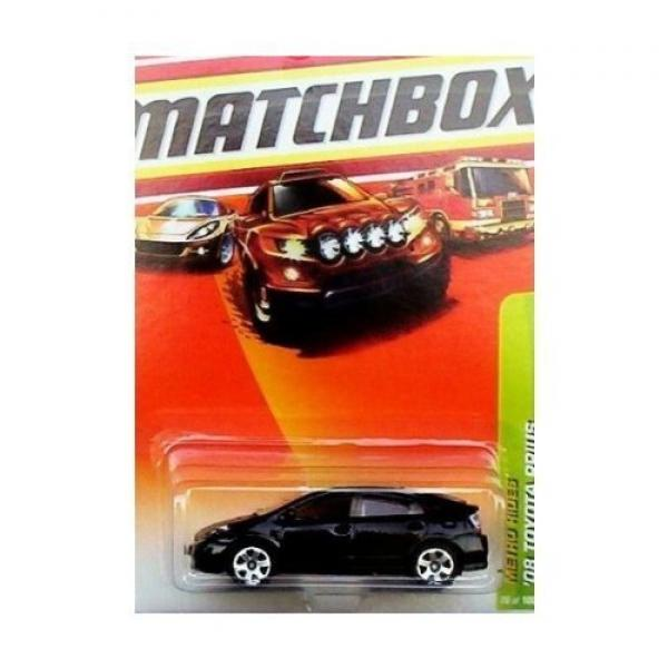 Matchbox 2010, '08 Toyota Prius (Black) 26 100, Metro Rides. 1:64 Scale. by