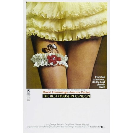 The Best House In London British Poster 1969 Movie Poster