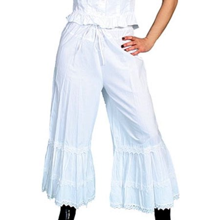 Scully Western Bloomers Womens Ruffles Lace Elastic Ties RW500