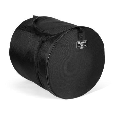 Tuxedo Floor Tom Drum Bag Black 16x16 - Tomtom Drum