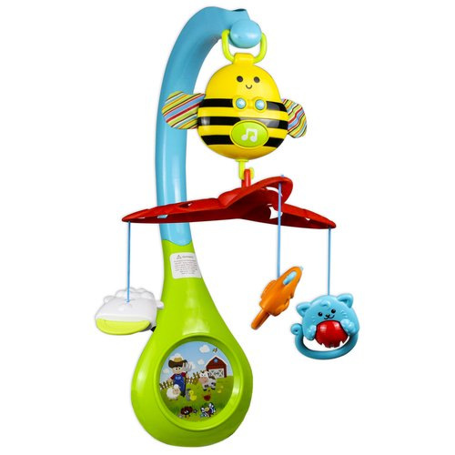 Zoomie Kids Aloysius 3-in-1 Busy Bee Mobile