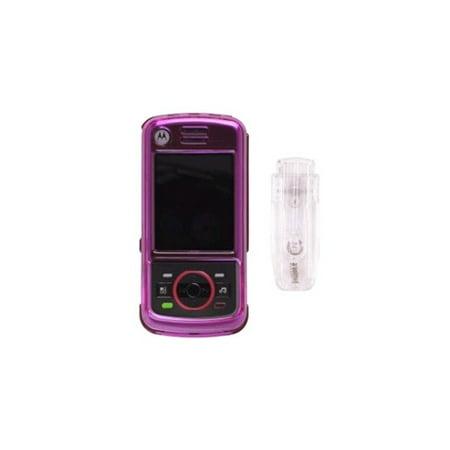 Snap-On Case for Motorola_iDEN Nextel Debut i856 - Pink