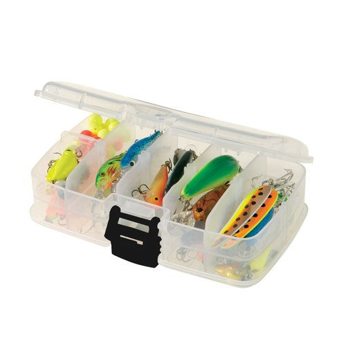Plano Fishing Double Sided Tackle Box Organizer, Clear by Plano Molding Company
