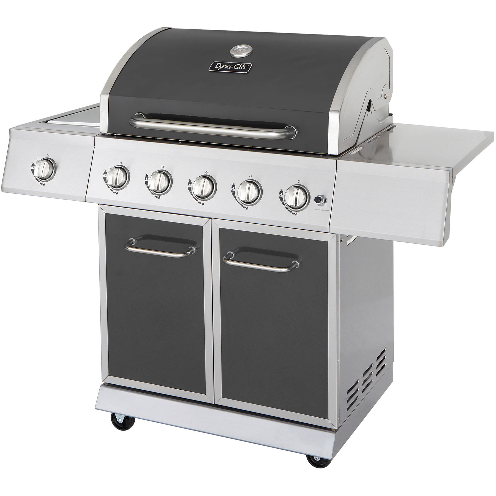 Dyna-Glo DGE530GSP-D 5-Burner Gunmetal LP Gas Grill by GHP Group, Inc.