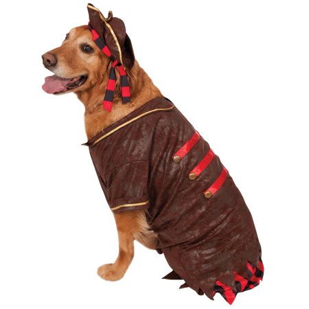 Big Dogs Pirate Boy Swashbuckler Jack Sparrow Dog Pet Costume Size XXL - Pirate Costumes For Dogs