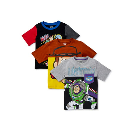 Cheap Disney Shirts For Kids (Disney Toy Story Boys' 4-7 Elevated T-Shirt,)