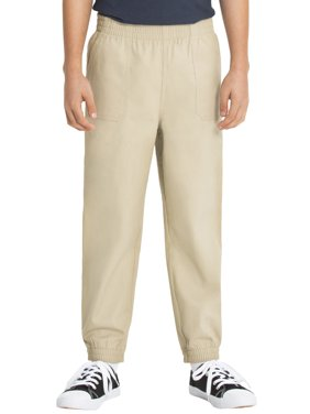 Real School Husky Boys School Uniform Pull on Pant, Sizes 8-20