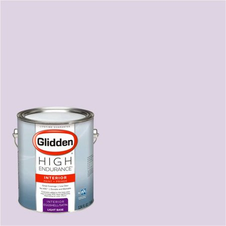 - Glidden High Endurance, Interior Paint and Primer, Scent Of Purple, #30RB 67/073