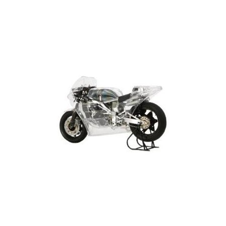 Tamiya 14126 1/12 1984 Honda NSR500 Racing Motorcycle (Full View)