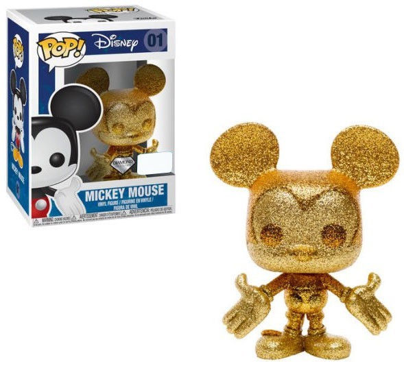 Funko POP! Disney Mickey Mouse Vinyl Figure [Diamond Collection, Gold]