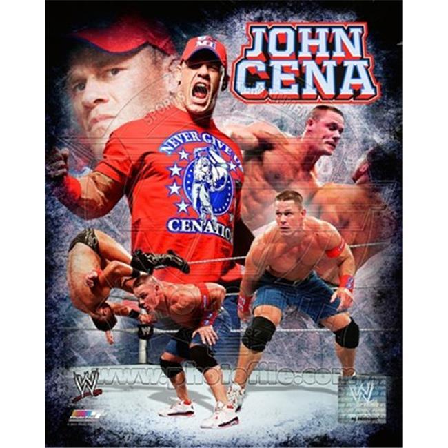 Photofile PFSAAOA17501 John Cena 2011 Portrait Plus -8 x 10 Poster Print