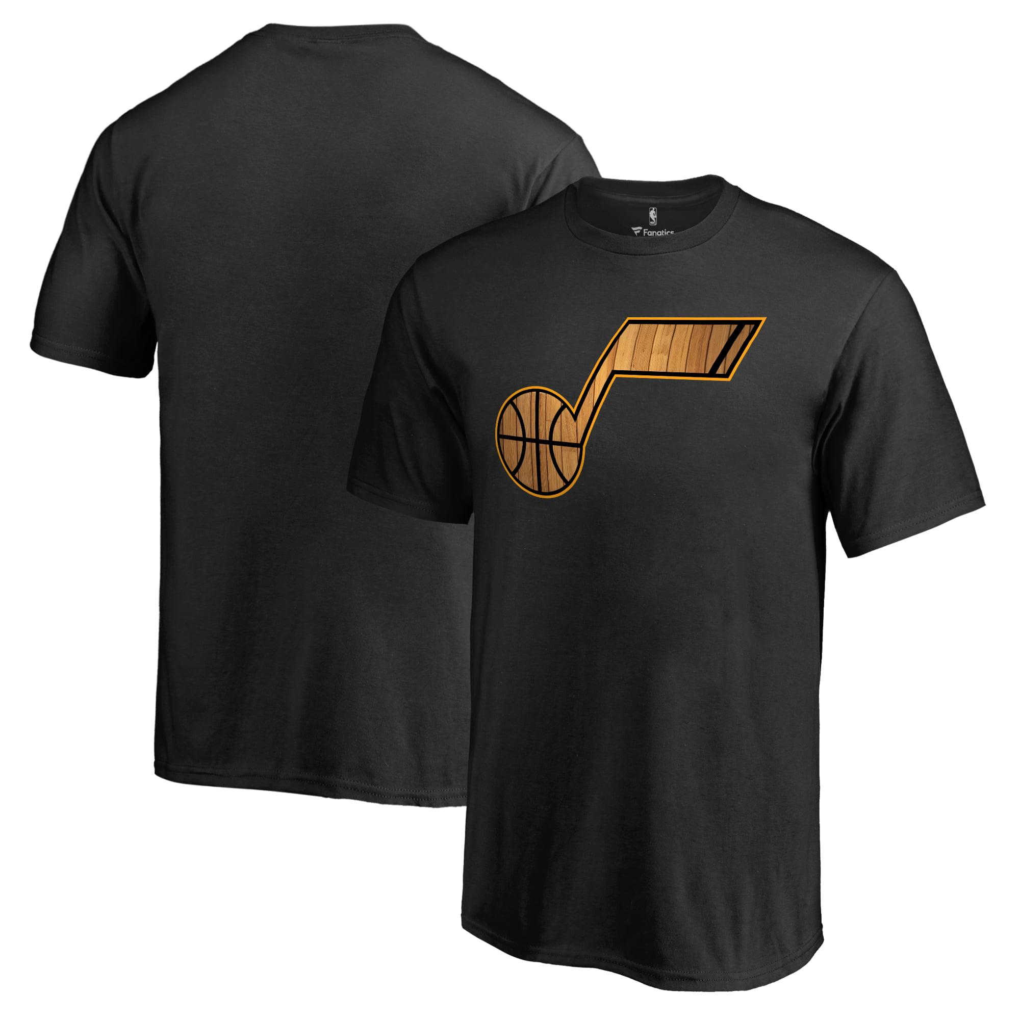 Utah Jazz Youth Hardwood T-Shirt - Black