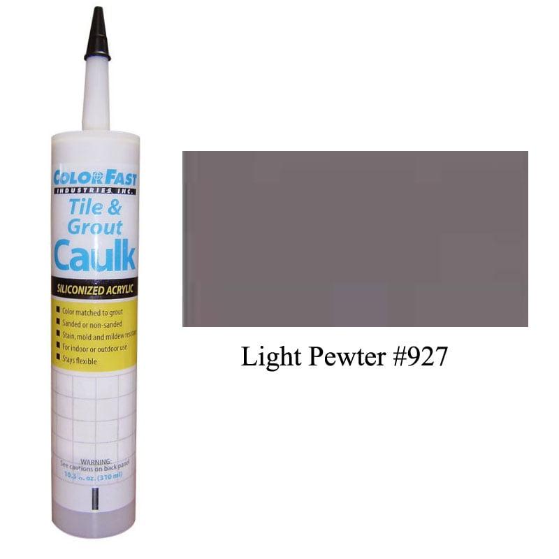 Latex Colored Caulk - TEC Color Line: Light Pewter Sanded