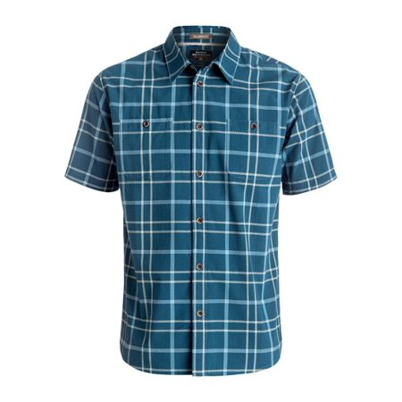 5dc442b4362 Quiksilver - Quiksilver NEW Blue Mens Size Medium M Tailored Fit Button  Down Shirt - Walmart.com