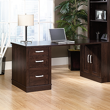 Incroyable Sauder Office Port Library Return In Dark Alder