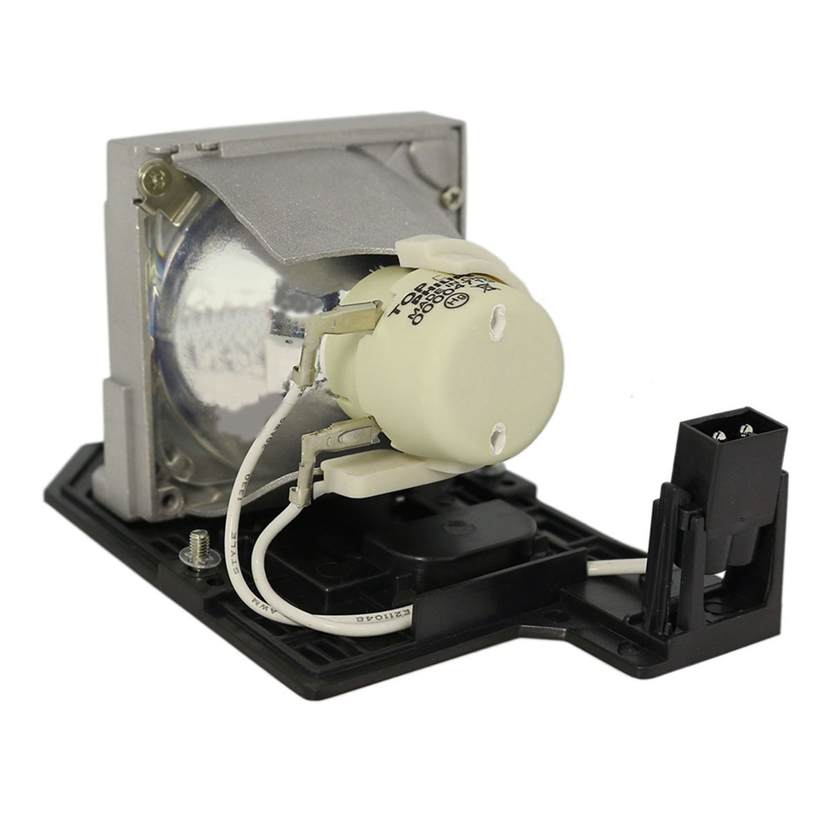 Original Philips Projector Lamp Replacement for Optoma EC300ST (Bulb Only) - image 4 of 5