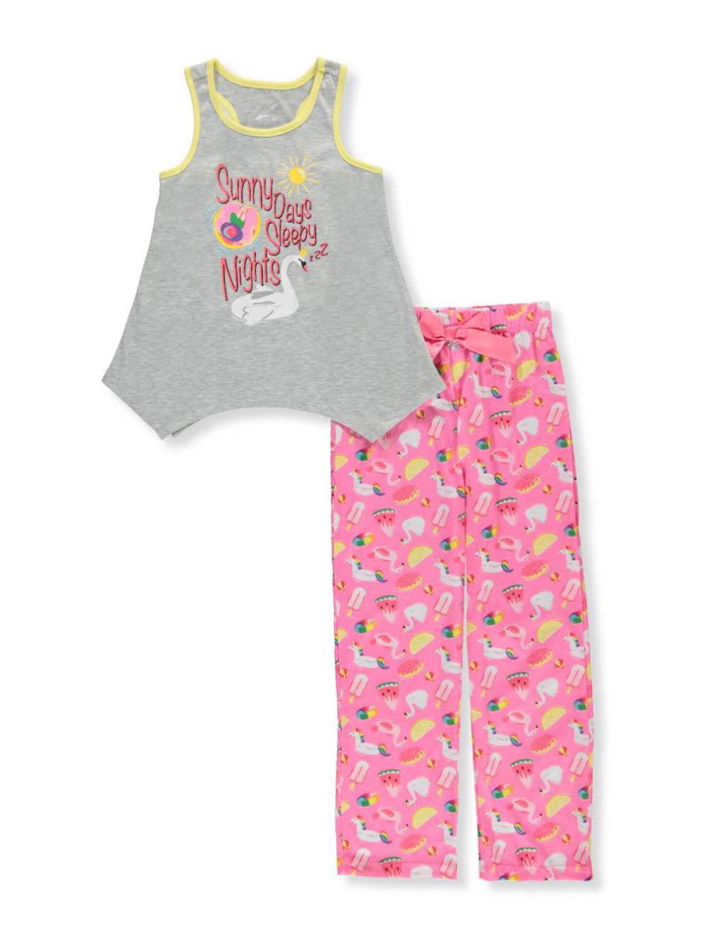 Girls' 2-Piece Pajamas