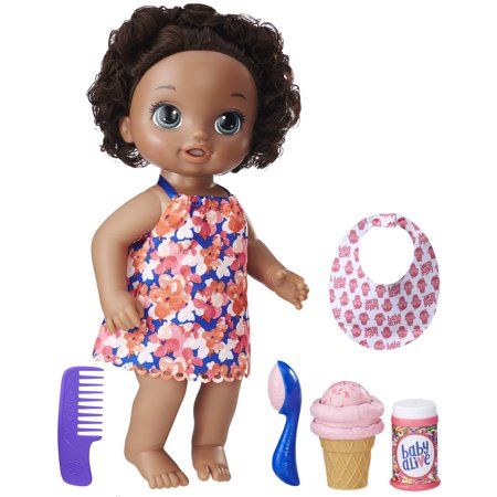 Baby Alive Magical Scoops Baby - Black Hair