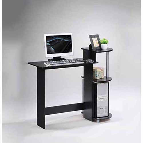 small computer desk for bedroom furinno 11181 compact computer desk walmart 19821