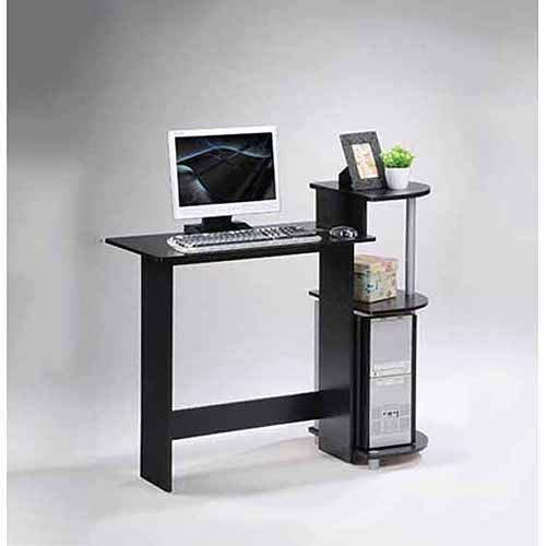 Furinno 11181 Compact Computer Desk - Walmart.com