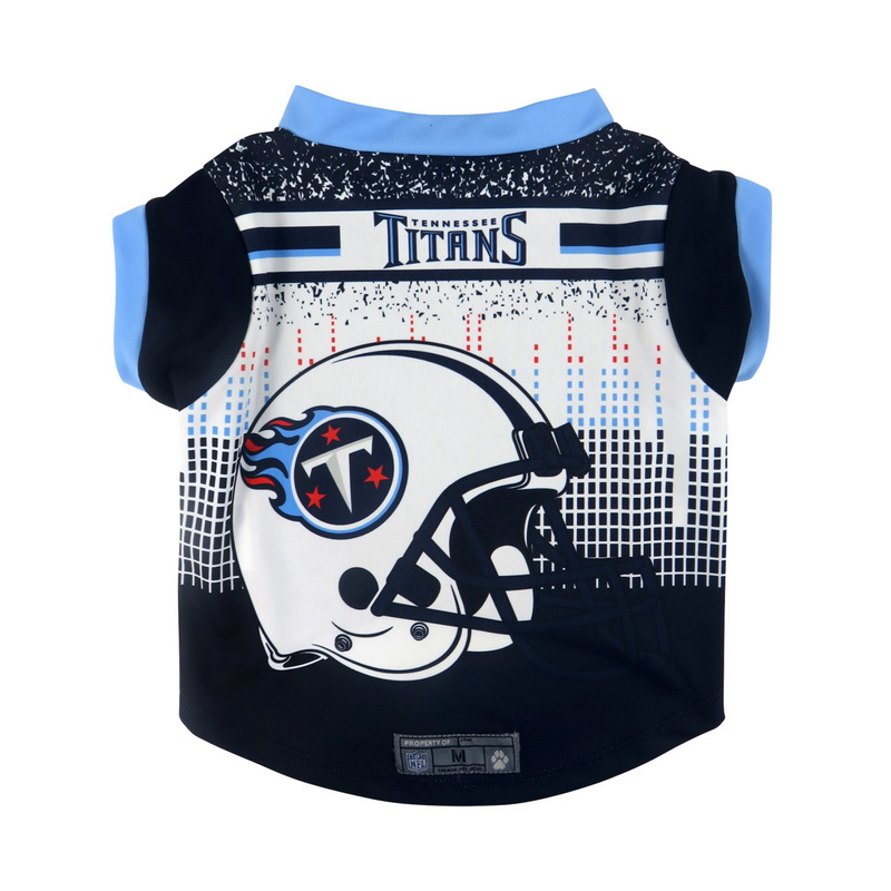 Tennessee Titans Pet Performance Tee Shirt Size S