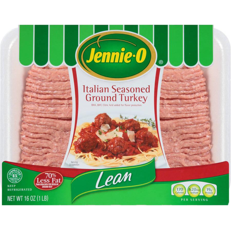 JENNIE-O ITALIAN STYLE GROUND TURKEY 16 OZ