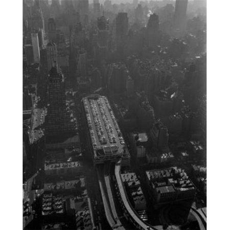 Posterazzi SAL255422100 USA New York State New York City Midtown Manhattan Aerial View Poster Print - 18 x 24 in. - image 1 of 1