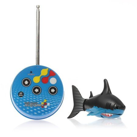 - Rc Radio Remote Control Mini Electrical Shark Fish Kids Water Game Toy