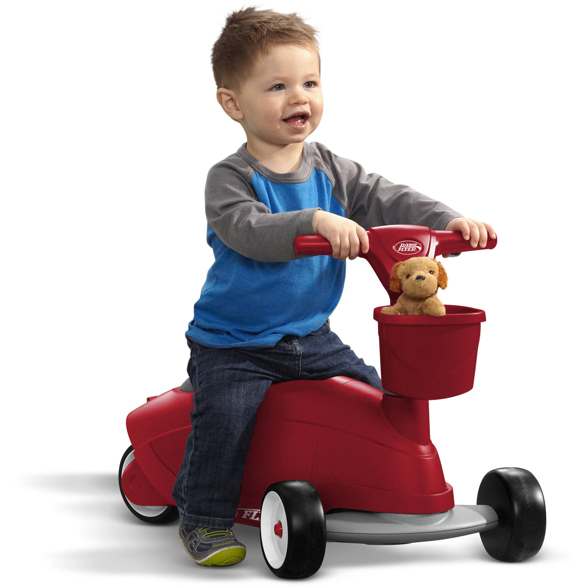 Radio Flyer Ride 2 Glide Ride Scooter Walmart