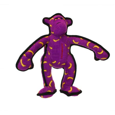 VIP Products Tuffy Zoo Monkey Dog Toy, Multicolor