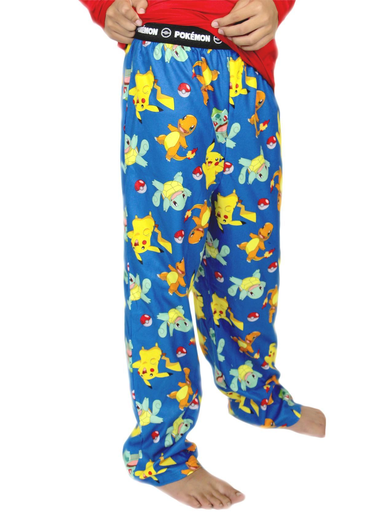 Pokemon Boy's Flannel Pajama Pants (Little Kid/Big Kid) 21PK144BPT