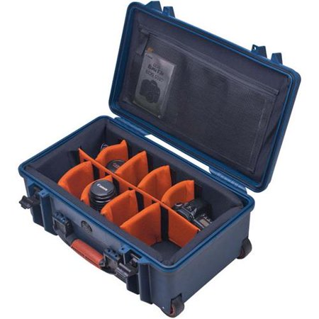 Porta Brace PB-2550DSLR Medium Wheeled Hard Case with Divider System for DSLR Kit, (Porta Brace)